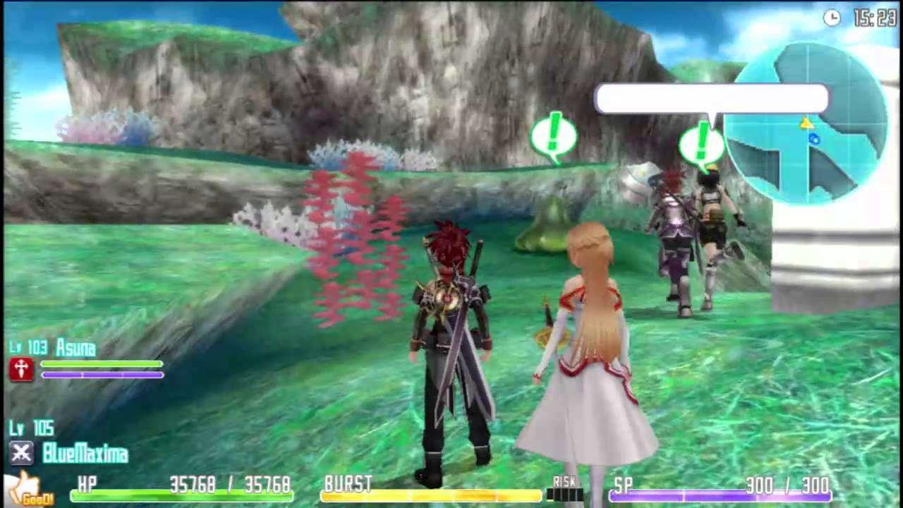 Sword art online hollow fragment pc