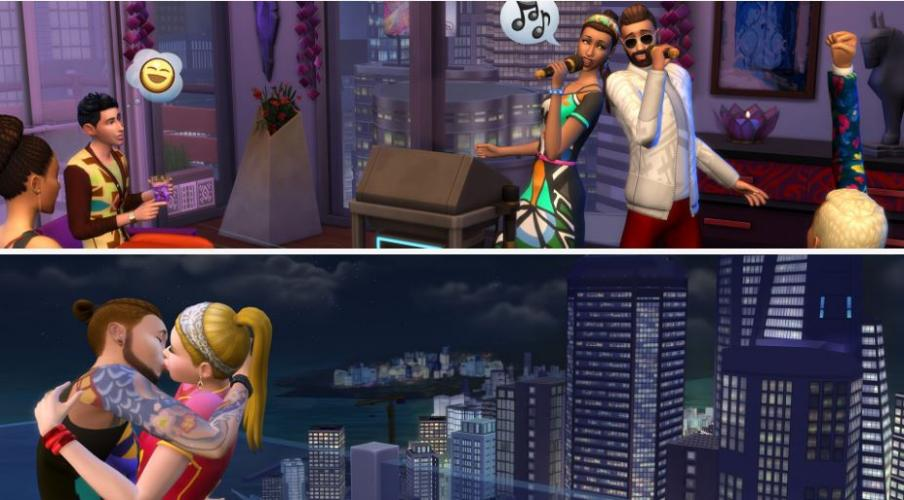 The Sims 4 City Living free Download3